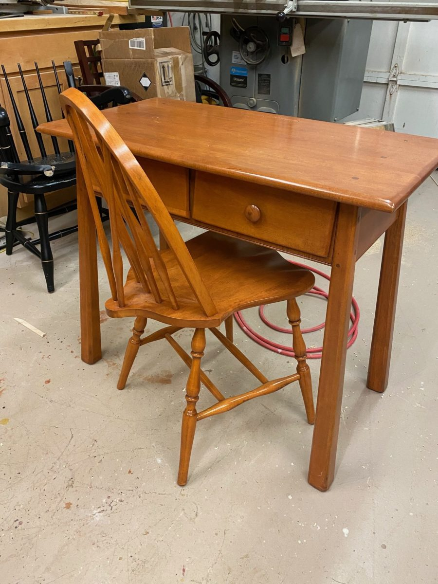 Refinished 1950's Youth Bedroom Set