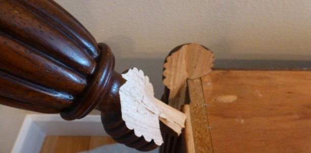Buffet Table Leg Repair | Ray Spencer Enterprises