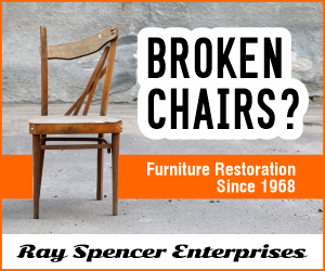 Broken Chair advertisement